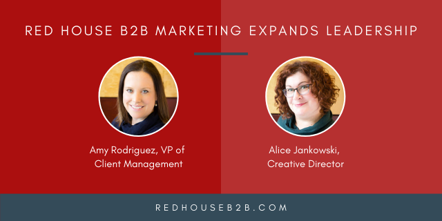 Red House B2B Marketing Expands Leadership in Client Management and Creative