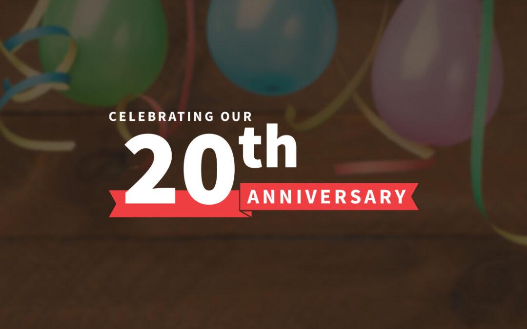 Red House B2B Marketing Celebrates 20th Anniversary